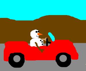 SnowmanCar